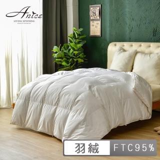 【A-nice】台灣製 飯店御用【立體隔間】95%羽絨被(加大 8x7呎 WS5 南)