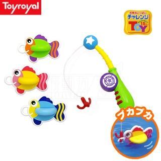 【日本《樂雅 Toyroyal》】洗澡玩具-釣魚組(釣釣樂)