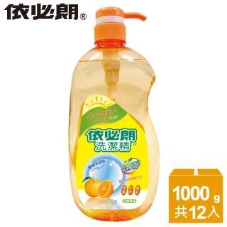 【依必朗】柑橘洗潔精1000g*12瓶(買6瓶送6瓶)