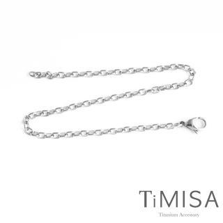 【TiMISA】動感 純鈦腳鍊(S)