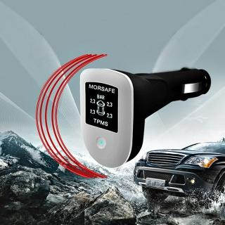 【COOLMAN】三合一多功能-胎外式汽車胎壓偵測器(胎壓、胎溫、電瓶顯示)