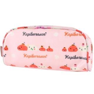 【kapibarasa】水豚君甜點系列筆袋(粉色)