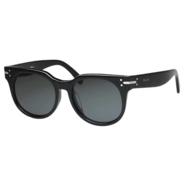 【CELINE】-低調復古 太陽眼鏡(黑色)買到賺到