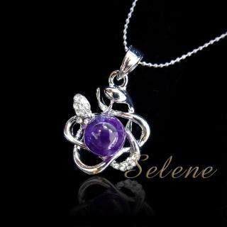 【Selene珠寶】媚力紫水晶項鍊組(開智慧增人緣首選)