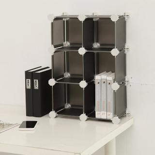 【H&R安室家】迷你6格收納櫃-5.8吋百變收納櫃/組合櫃(多色選)