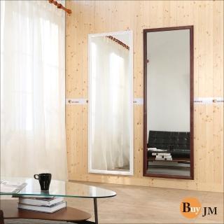 【BuyJM】造型實木超大大壁鏡/二色可選/高180*寬60