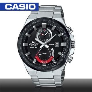 【CASIO 卡西歐 EDIFICE 系列】3D立體金屬感賽車運動錶(EFR-542DB)