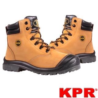 【KPR尊王】寬楦戶外型安全鞋(M-222小麥色/男款)