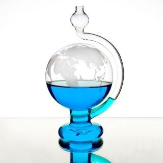 【Mr.sci 賽先生科學】天氣預報球-玻璃氣壓球/晴雨儀(世界地圖版)