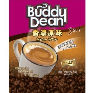 【Buddy Dean】巴迪三合一咖啡-香濃原味(18gx25包入/ 袋)