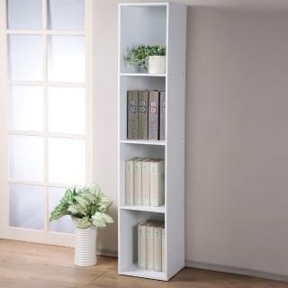 【Homelike】現代風四格置物櫃