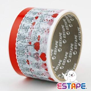【ESTAPE】易撕貼OPP裝飾膠帶(兩小無猜)