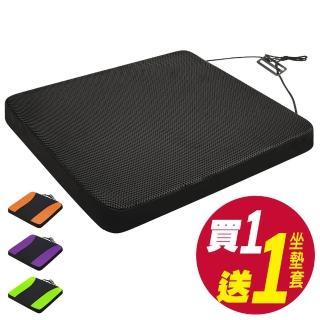 【源之氣】竹炭透氣加厚5公分記憶坐墊 RM-9451(透氣孔/附止滑)
