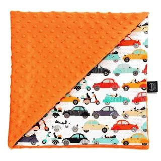 【La Millou】單面豆豆巧柔毯-加大款(法鬥噗噗車-葡萄柚橙橘-四季毯寶寶毯嬰兒毯)
