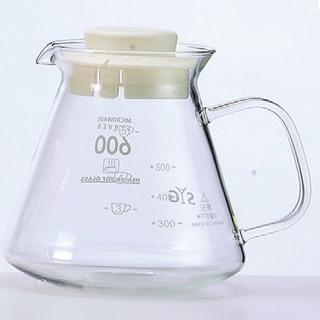 【SYG】精緻耐熱花茶咖啡壺–白蓋(BH605A)