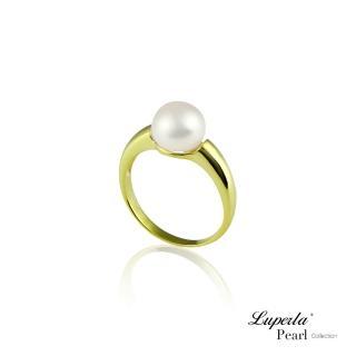 【大東山珠寶】自然光輝純銀珍珠戒指(時尚珍珠)