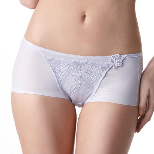 【LADY】安布羅莎系列 機能調整型 中腰平口褲(薰衣紫)