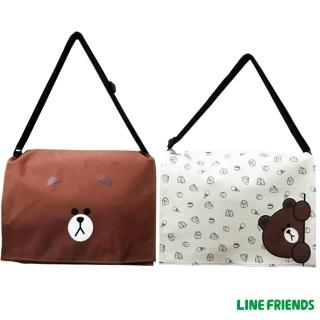 【imitu 米圖】LINE FRIENDS MIT無辜熊大側背包(共2款)