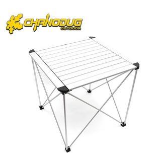 【韓國CHANODUG】豪華鋁合金便攜式正方形折疊桌