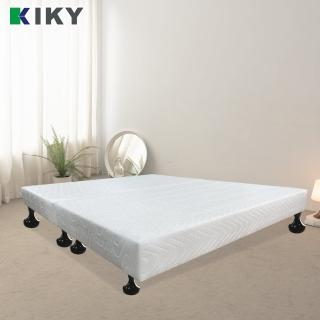 【KIKY】白色情人布質雙人5尺床底(飯店指定款)