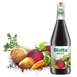 【Biotta《百奧維他》】魯道夫布魯士有機根莖蔬菜純汁(500mlx6瓶_甜菜根、西芹根、胡蘿蔔、馬鈴薯)