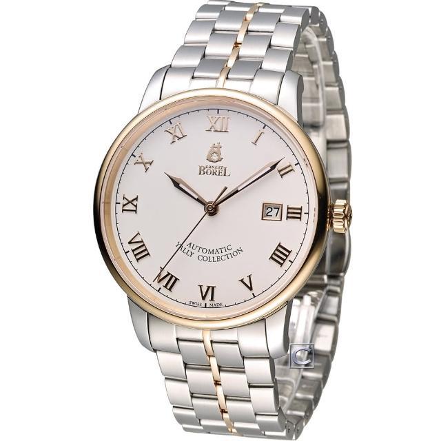 【依波路 E.BOREL】雅麗系列 II紳士機械男錶(GBR5680N-432)
