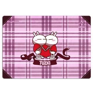 【i2】兔斯基竹炭滑鼠墊(相擁的愛)