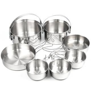 【Rhino 犀牛】3-4人不鏽鋼套鍋