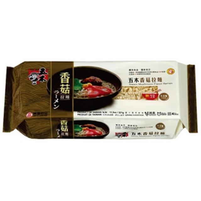 【五木】香菇味拉麵  321g