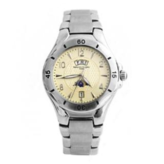 【范倫鐵諾˙古柏】日本機芯日期.星期不鏽鋼腕錶