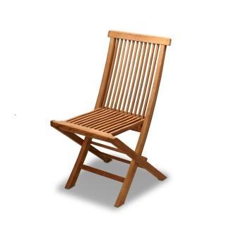 【BROTHER 兄弟牌】印尼柚木古典折疊椅