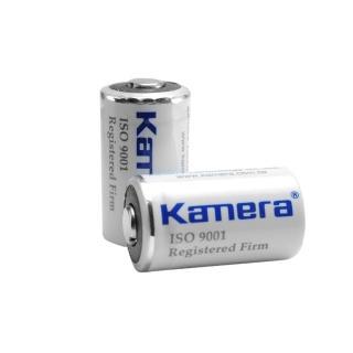 【Kamera】CR2 可充鋰電池(2入)