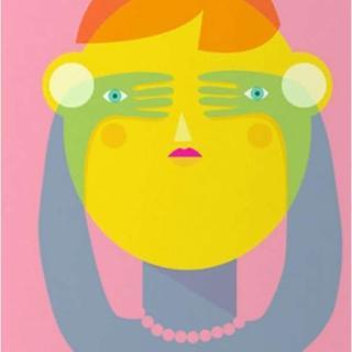 【摩達客】西班牙知名插畫家Judy Kaufmann藝術創作海報掛畫裝飾畫-秘密01(附本人簽名 含木框)