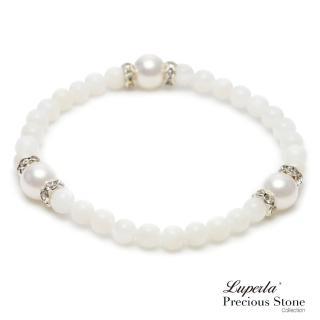 【大東山珠寶】氣質白天然珠貝手鍊