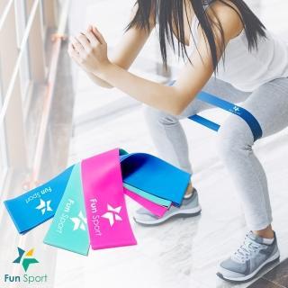 【Fun Sport】樂訓環彈力拉帶-MINI BANDS(3種力道組合)