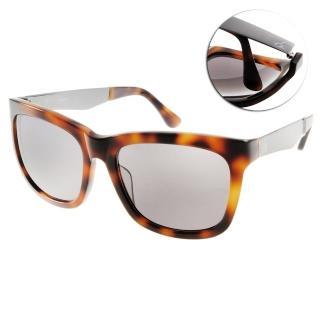 【Calvin Klein太陽眼鏡】率性經典簡約款(琥珀 #CK4247S 004)