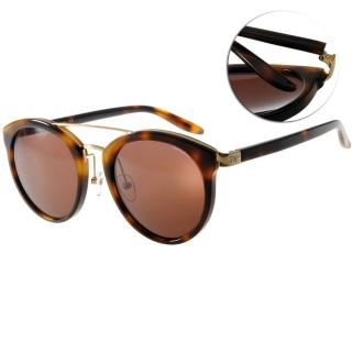 【PAUL HUEMAN太陽眼鏡】韓系復古(琥珀棕#PHS1044A C04)