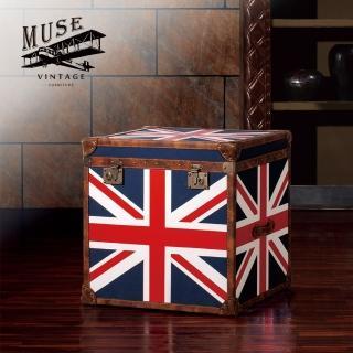 【MUSE】Cleveland克利夫蘭復古英倫國旗收藏箱(收藏箱)