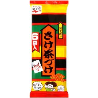 【永谷園】平袋鮭魚茶漬(6袋入)