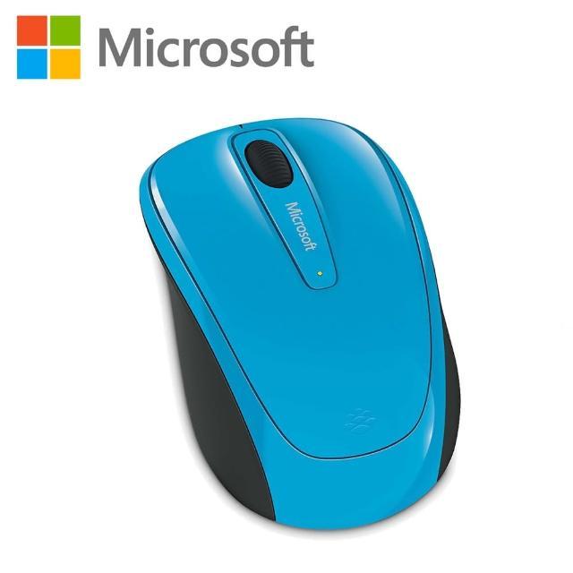 【微軟】Microsoft無線行動滑鼠3500 藍色(GMF-00275)