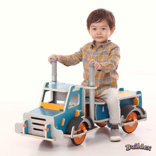 【美國 Buildex】純木質騎乘車(勁酷大卡車)便宜賣