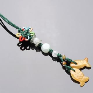 【寶石方塊】好事成雙天然玉石墜子-吊飾/項鍊