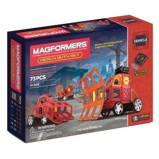 【MAGFORMERS】磁性建構片-自動重型車