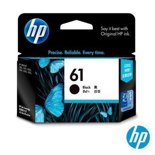 【HP】NO.61 原廠黑色墨水匣(CH561WA)