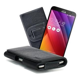 【X_mart】ZenFone 2 /Laser 5.5吋麗緻真皮腰掛皮套
