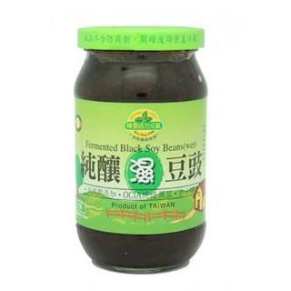 【味榮】純釀濕豆豉(400公克/瓶)