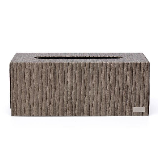 【finara費納拉】KENZO東方咖啡CEO方形大面紙盒(紙巾盒/收納盒)/