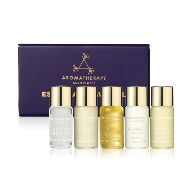 【AA】經典5款沐浴油體驗組(Aromatherapy Associates)