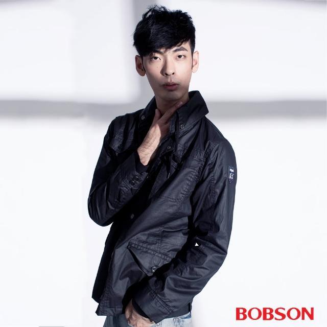【BOBSON】男款水洗合身外套(35041-88)買到賺到