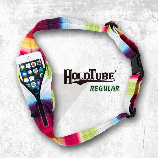 【HOLDTUBE】運動腰帶-單口袋(清新層次)